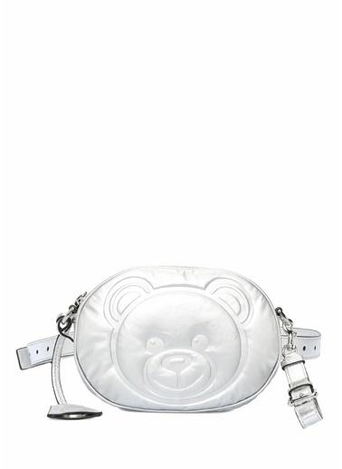 Moschino Çanta Gümüş